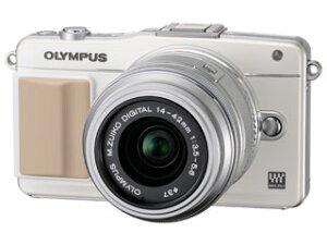【送料無料】【smtb-u】OLYMPUS/オリンパス PEN mini E-PM2 レンズキット (ホワイト) ミラー...