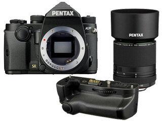 PENTAX/ペンタックス KPボディキット(ブラック)+D-BG7 バッテリーグリップ+DA 55-300mmF4.5-6.3レンズセット【kpset】:ムラウチ