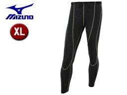 【nightsale】 mizuno/ミズノ B2JB6021-90 スタスタ歩けるウォーキングタイツ メンズ 【XL】 (ブラック×グレー)