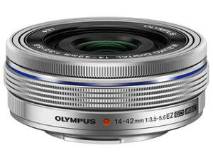 【送料無料】【smtb-u】OLYMPUS/オリンパス M.ZUIKO DIGITAL ED 14-42mm F3.5-5.6 EZ(シルバー...