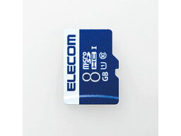 ELECOM エレコム データ復旧microSDHCカード(UHS-I U1) 8GB MF-MS008GU11R