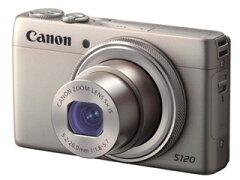 【送料無料】【smtb-u】CANON/キヤノン PowerShot S120(シルバー) コンパクトデジタルカメラ...