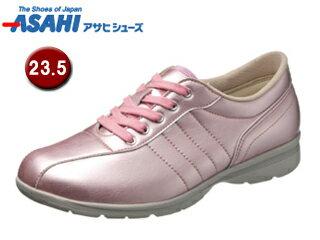 KS23351-1快歩主義L120ACレディースカジュアルシューズ【23.5cm・3E】(ピンク)
