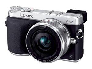 【送料無料】【smtb-u】Panasonic/パナソニック DMC-GX7C-S(シルバー) レンズキット LUMIX/...