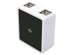 【充電万能シリーズ】USB4ポート付き、ハイパワー2000mA対応ACアダプタ!プラネックスコミュニ...