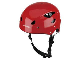 CAPTAIN STAG/キャプテンスタッグ MC-3549 CSスポーツヘルメット(レッド)