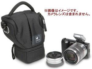 標準ズームレンズを付けたミラーレス一眼に加え、交換用レンズ1本が収納可能KATA/カタ 【納期未...