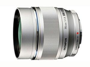 【送料無料】【smtb-u】OLYMPUS/オリンパス M.ZUIKO DIGITAL ED 75mm F1.8 シルバー 単焦点レンズ