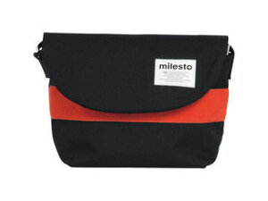 milesto/ミレスト フロッピー メッセンジャーS/ブラック/MLS066-BK