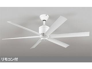 【軽量】WF239LEDシーリングDCモーターファン器具本体6枚羽根(白)【パイプ吊り】