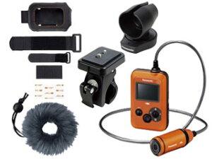 【送料無料】【smtb-u】Panasonic/パナソニック HX-A500-D(オレンジ)+VW-HLA500-K+RP-CMC10-K...