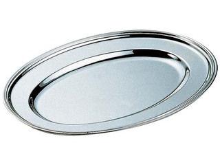 H 洋白 小判皿 26インチ 三種メッキ:ムラウチ