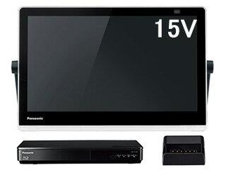 Panasonic パナソニック 【納期10月以降】UN-15TD10-K(ブラック) 防水15V型ポータブルテレビ プライベート・ビエラ VIERA BDプレーヤー/HDDレコーダー付ポータブル地上・BS・110度CSデジタルテレビ