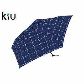 kiu/キウ K48-077 折りたたみ傘 手開き 日傘/晴雨兼用 エアライト 軽量 【60cm】 (ウインドウペン)
