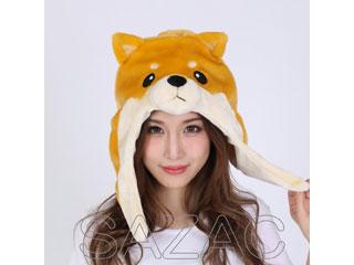 SAZAC/サザック サザック フリース着ぐるみキャップ 2018年干支 柴犬 フリーサイズ 2870