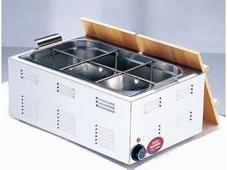 Total Kitchen Goods 【TKG】業務用 湯煎式電気おでん鍋/6ッ切