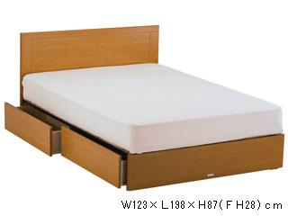 【ASLEEP/アスリープ】ベッドフレームマリン(引出し付き)FY25H2DC※マットレスは別売り