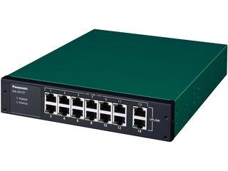 パナソニックESネットワークス 【キャンセル不可】10/100/1000Mbps 14ポート スイッチングハブ GA-AS12T 3年先出センド保守 PN25121B3
