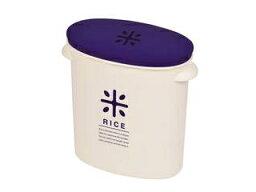 パール金属 RICE お米袋のままストック 5kg用 ネイビー (ライスストッカー ライスボックス 米びつ)