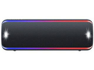 SONY/ソニー SRS-XB32-B(ブラック) ワイヤレスポータブルスピーカー 防水・防塵・防錆(ぼうせい)/海やアウトドアでも使える!ロングバッテリー
