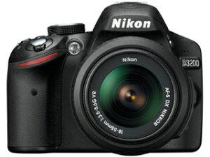 【送料無料】【smtb-u】Nikon/ニコン D3200 レンズキット(ブラック) 【送料代引き手数料無料...