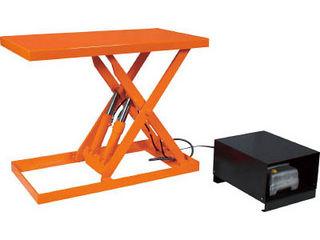 【】ピットレスローリフト1000kg電動式1200X600超低床型/FL100-612(AC200V)