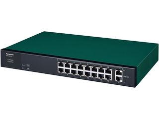 パナソニックESネットワークス 【キャンセル不可】10/100/1000Mbps 18ポート スイッチングハブ GA-AS16T 5年先出センド保守 PN25161B5