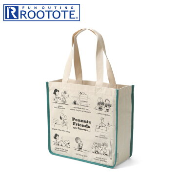 ROOTOTE/ルートート TALL/トール 4987 SC.トール PEANUTS-3R キャンバストートバッグ (Friends)