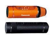 Panasonic/パナソニック HX-A1H-D(オレンジ)+VW-BTA1 拡張バッテリーセット【hxa1set】
