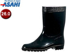 ASAHI/アサヒシューズ KG31021 ハイゼクト紳士K【26.0cm・2E】 (ブラック)