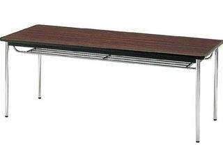 【】会議用テーブル1500X750XH700丸脚ローズ/TDS-1575TRO(ロ-ズ)(ソフトエッジマキ)