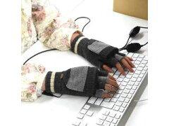 パソコンなどに接続することで、あったかくなる「あったか手袋」Newモデルは蒸れ防止メッシュ内...