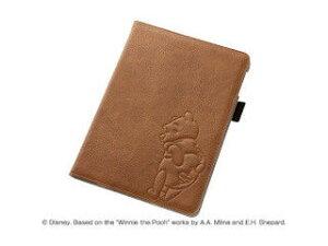 レイ・アウト iPad Air 2用 ディズニー・ポップアップ・レザージャケット/プー RT-DPA6A/PO 納期にお時間がかかる場合があります
