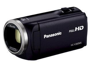 Panasonic/パナソニック HC-V360MS-K(ブラック) デジタルハイビジョンビデオカメラ