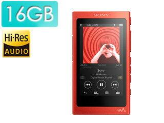 SONY/ソニー NW-A35-R(シナバーレッド) 16GB ヘッドホン付属なし ウォークマン Aシリーズ 【送料無料】