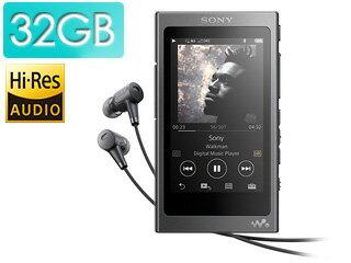 SONY/ソニー NW-A36HN-B(チャコールブラック) 32GB ウォークマン Aシリーズ 【送料無料】