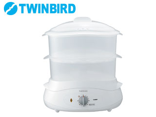 TWINBIRD/ツインバード SP-4138-W フードスチーマー(ホワイト)