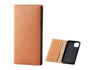 ELECOM/エレコム iPhone 11用ソフトレザーケース/イタリアン(Coronet) オレンジスカッシュ PM-A19CPLFYILDR