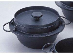 かまどで炊いたようなふっくらごはんとパリパリのおこげを。岩鋳 岩鋳鋳鉄ごはん鍋/21−086 ...