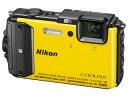 【あす楽対象品】Nikon/ニコン COOLPIX AW130(イエロー) クールピクス