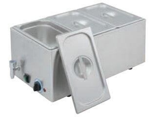 EBM 電気式フードウォーマー(湯煎式)YFK-3(1/3×3):ムラウチ