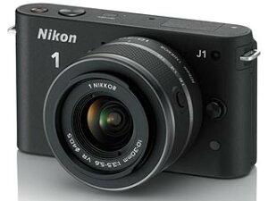 【送料無料】【smtb-u】Nikon/ニコン NIKON1 J1標準レンズキット(ブラック) 【送料代引き手...