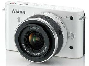 【送料無料】【smtb-u】Nikon/ニコン NIKON1 J1標準レンズキット(ホワイト) 【送料代引き手...