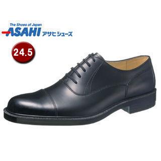 【nightsale】 ASAHI/アサヒシューズ AM33201 通勤快足 TK33-20 ビジネスシューズ 【24.5cm・3E】 (ブラック ):ムラウチ