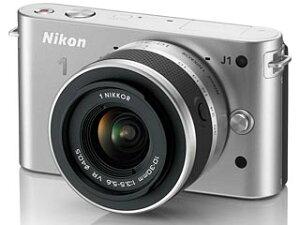【送料無料】【smtb-u】Nikon/ニコン NIKON1 J1標準レンズキット(シルバー) 【送料代引き手...