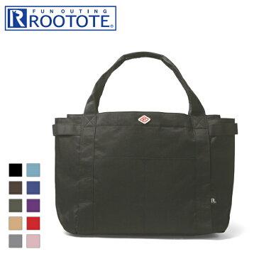 ROOTOTE/ルートート MEDIUM/ミディアム 3349 SN.ミディアムポケッツ-A 撥水2wayトートバッグ (ブラック)