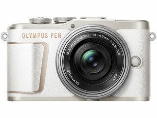 【5000円分UCギフトカードプレゼント!5月12日まで】 OLYMPUS オリンパス PEN E-PL10 14-42mm EZ レンズキット(ホワイト) ミラーレス一眼カメラ