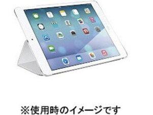 バッファロー iPad Air 2専用 レザーケース スタンド機能付きモデル ホワイト BSIPD14LFWH 納期にお時間がかかる場合があります