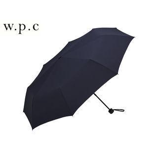 w.p.c /ワールドパーティ MSZ-007 折りたたみ傘 手開き 日傘/晴雨兼用 耐風 ユニセックス UVカット80%以上  (ネイビー)