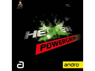 卓球, 卓球用ラバー andro HEXER POWERGRIP 2.1 112297-BK